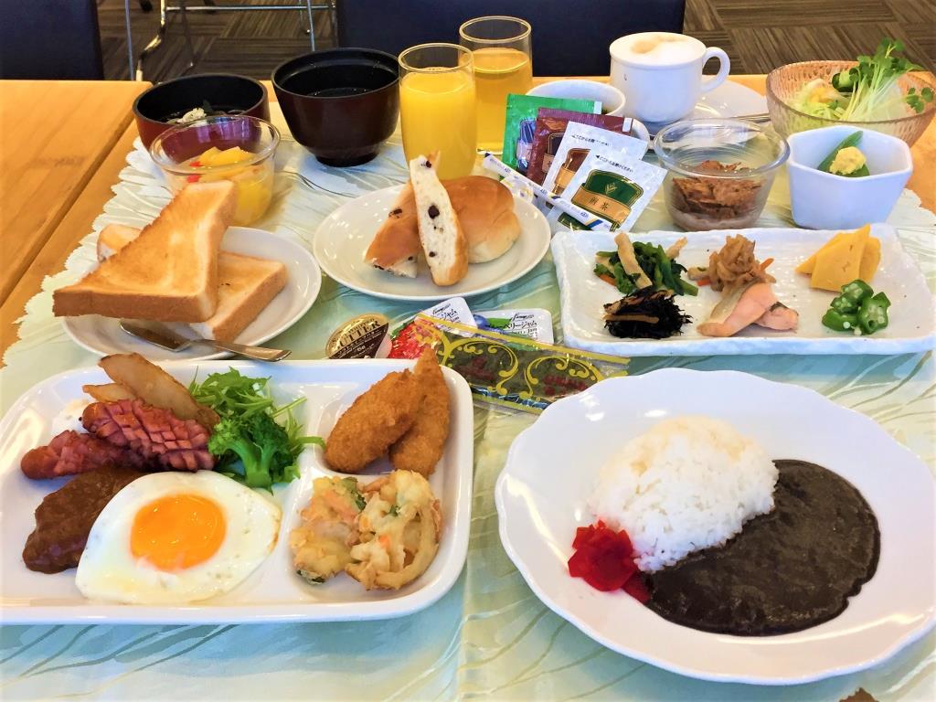 アパホテル京急蒲田駅前の朝食
