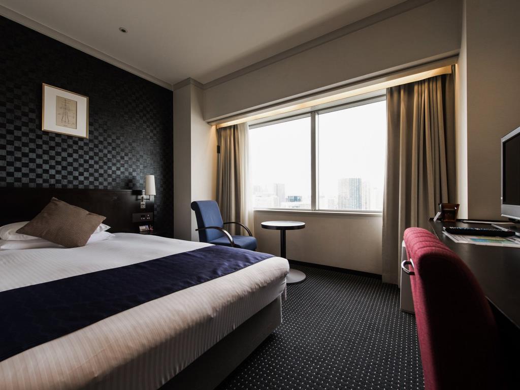 第一ホテル東京シーフォートのスタンダードセミダブルルーム