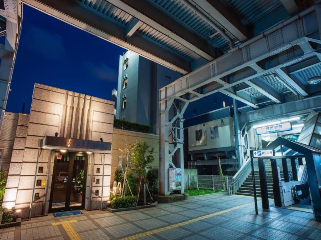 京急EXイン品川・新馬場駅北口のホテル外観