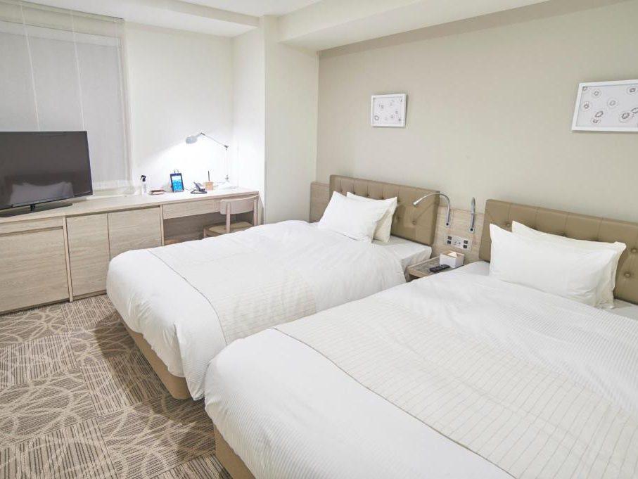 リリーフプレミアム羽田空港のツインルーム